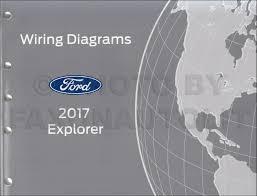 2017 Ford Explorer Color Chart 2017 Ford Explorer Wiring Diagram Manual Original