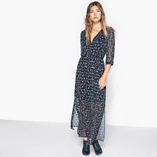 фото <b>Платье длинное с</b> принтом <b>La Redoute</b> Collections | Maxi ...