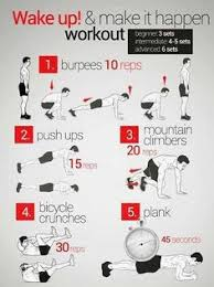 bodyweight workout quick workouts morning workouts morning workout routine mens fitness workouts
