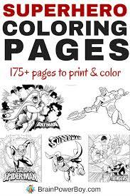 Superhero mask coloring page from masks category. Over 175 Free Printable Superhero Coloring Pages