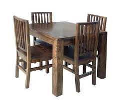 excellent brown square contemporary wooden wooden dining room chairs stained design with table
