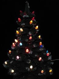 Ceramic Christmas Tree  Christmas Lights DecorationCeramic Tabletop Christmas Tree With Lights