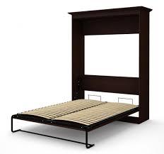 oak veneer queen wall bed espresso