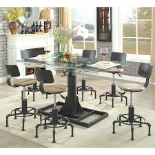 industrial furniture table. Furniture Of America Charlie Industrial Style Adjustable Dining Table - Free Shipping Today Overstock 25916972
