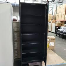 tall black storage cabinet. Steelcase Storage Cabinet 6 Shelf EXTRA TALL Black Tall