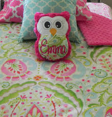 Owl Decor For Bedroom Bedroom Girls Owl Twin Bedding Carpet Wall Mirrors Lamp Bases