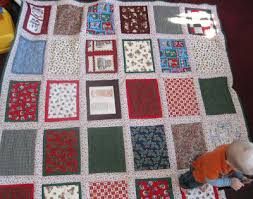 Running With Scissors: Flour Sack Quilt & It is hand quilted, with a solid ever-green backing. I took a DVD to the  party, but took off with a handmade quilt! Adamdwight.com
