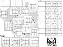 28 Images Of Little League Baseball Position Template