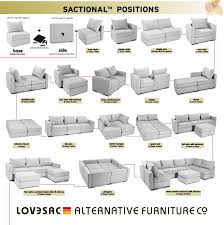 -nb] Lovesac, coolest piece of furniture it comes apart and you can make  any type of couch, sectional, chair, loveseat ect