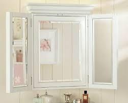 Three Way Vanity Mirror Bathroom Mirrors With Storage Best 25 Bathroom Mirror Cabinet