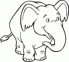 Extremely Ideas Disegni Animali Da Colorare Elefante2 Maestra Mary