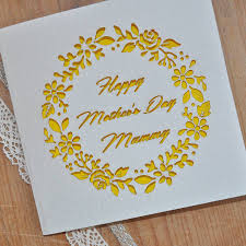 Laser Cut Mothers Day Card By Sweet Pea Design Notonthehighstreet Com