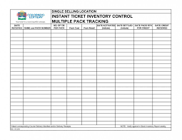 Inventory Control Template With Count Sheet For Excel Free And How