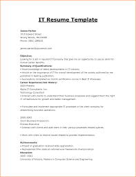 resume it resume samples it resume samples printable