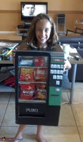 How To Make A Candy Vending Machine Out Of Cardboard New Coolest Vending Machine Costume
