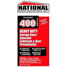 400 hd national door lube 15oz aerosol orange