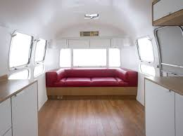 Airstream Interior Design Minimalist Simple Design