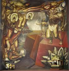 file mural david alfaro siqueiros en el tecpan tlatelolco jpg