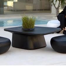Planter coffee table Modern Thebeddingstoreinfo Low Table Planter Black Vondom Moma