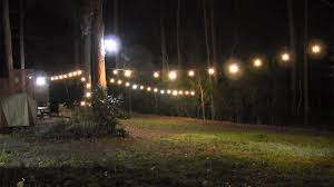 How To Light Up A Picture How To Run Lights Outside Light Up Your Backyard