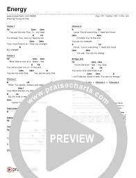 Free Energy Chart Energy Chord Chart Editable Hillsong Young Free