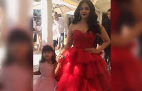 aishwarya rai bachchan walked the red carpet at cannes film festival 2017 but her daughter aaradhya stole the show