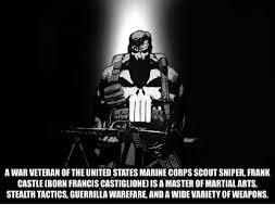 Marine Corps Scout Sniper A War Veteran The United States Marine Corps Scout Sniper Frank