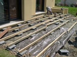 Nivrem Com Construction Terrasse En Bois Sur Plot Beton Terrasse Bois Par Jb