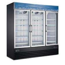 78 in w 63 cu ft three glass door merchandiser commercial
