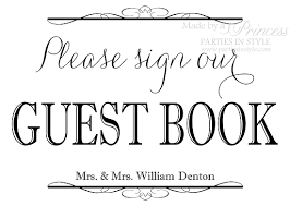 Guest Sign Book Wishing Well Advice Guest Book Wedding Reception Sign