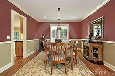 Two tone paint ideas living room Toned Brown Dining Room With Two Toned Walls Stock Photo Image Of Suburban Floor 12627226 Paint Colors For Living Pinterest 50 Best Two Toned Walls Images In 2019 Two Tone Walls Two Toned