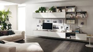 view in gallery a simple change in the alignment of shelves alters the entire appeal of the wall unit