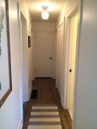 image of small hallway light fixtures