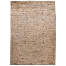 large modern moroccan style tribal wool