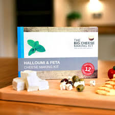 make your own halloumi and feta cheese making kit