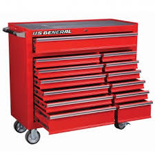industrial workbench with drawers. 13 drawer glossy red industrial roller cabinet workbench with drawers