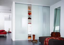 frosted glass doors for closet