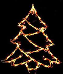 Fenster Silhouette Weihnachten 50cm Weihnachtsdeko