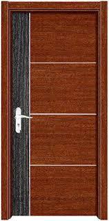 Simple Designs Modern Eurpean Wood Door Design WPC Finish Door Bedroom  Interior Wooden Door (EI W01)