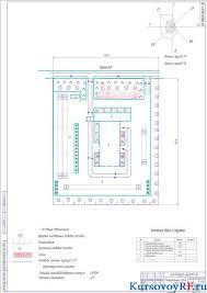 Курсовой проект станции технического обслуживания Чертеж генерального плана станции технического обслуживания