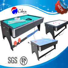 KBL-B1204 3 in 1 pool table with pingpong and air hockey combon Kbl-b1204 In Pool Table With Pingpong And Air Hockey Combon