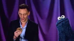 cookie monster tom hiddleston gif. Interesting Cookie Awkward GIF  SesameStreet CookieMonster TomHiddleston GIFs Intended Cookie Monster Tom Hiddleston Gif M