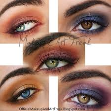 makeup and art freak how to make your eye color pop with what