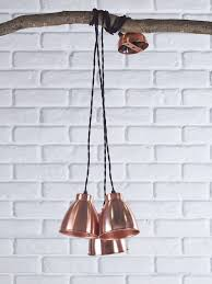 trinske triple pendant copper homepage upsell industrial style lightingcopper ceilingcopper industrial style home lighting t45 lighting