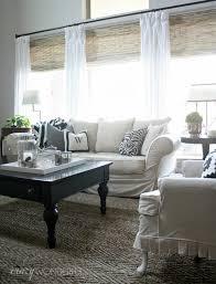 Decoration Awesome Bamboo Roman Shades For Room Decor Impressive Living Room Shades Decor