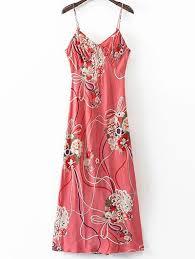Стильный Cami <b>Цветочные Открыть</b> Назад <b>Женщины</b> 'ы платье ...