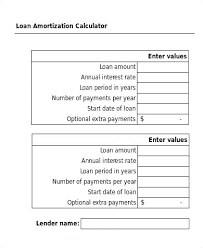 Loan Amortization Calculator Annual Payments Amortization Calculator Excel Download Vehicle Loan Calculator In
