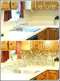 replacing kitchen backsplash to install a tile