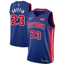 Nike Youth Swingman Jersey Size Chart Detroit Pistons Mens Nike Road Griffin 23 Swingman Jersey