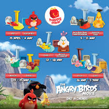 mcdonald s msia are having their happy meal promotion now e a free the angry birds toy with every mcdonald s happy meal and many more